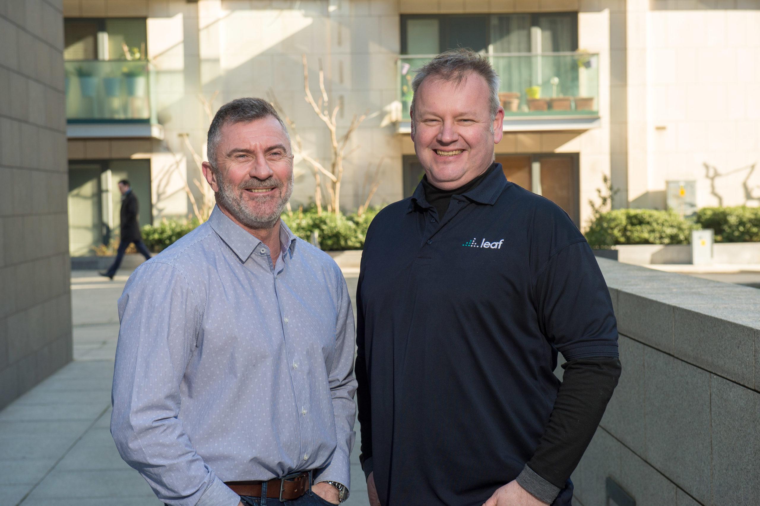 L-R Steven Goldblatt, CEO & Larry Doyle, COO